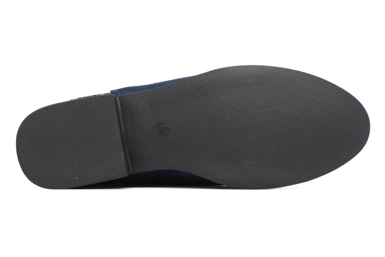 Bottines et boots I Love Shoes THENAR Bleu vue haut