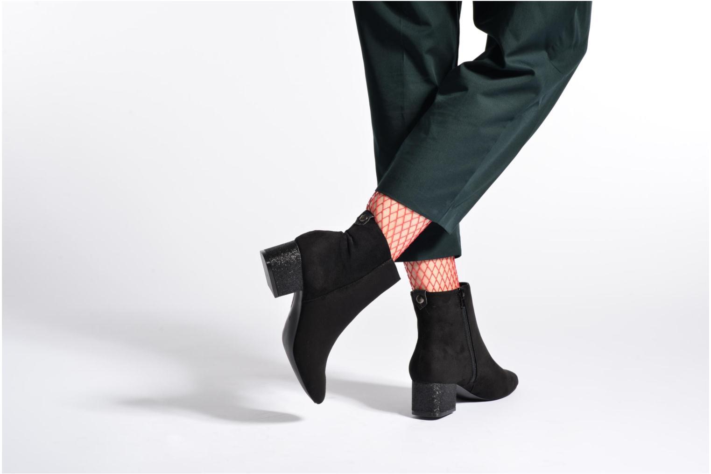 Bottines et boots I Love Shoes THIOL Noir vue bas / vue portée sac