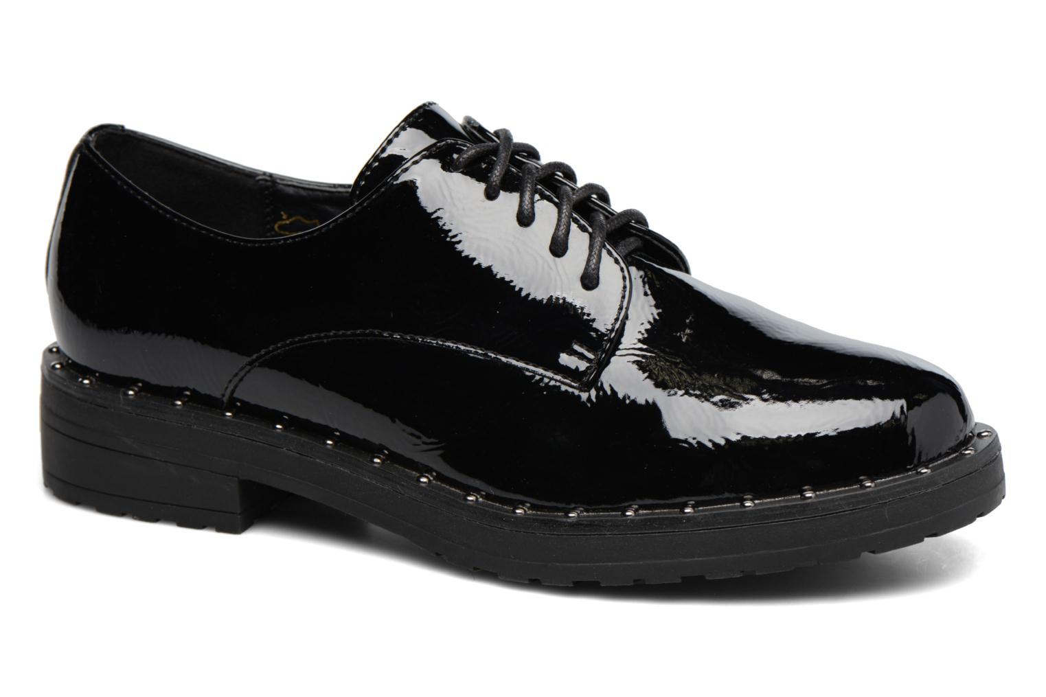 Lace-up shoes I Love Shoes THRYCIA Black detailed view/ Pair view