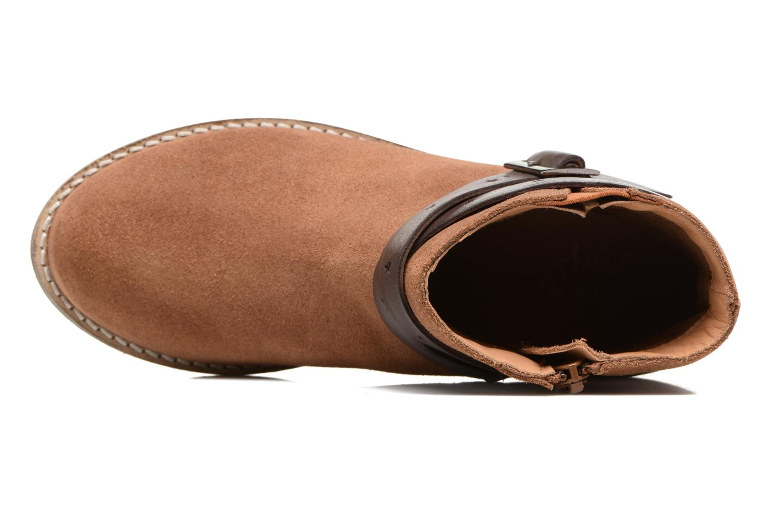 SELIA LEATHER Tan