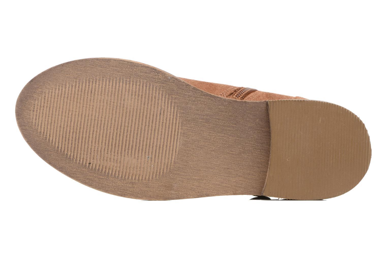 Stivaletti e tronchetti I Love Shoes SELIA LEATHER Marrone immagine dall'alto
