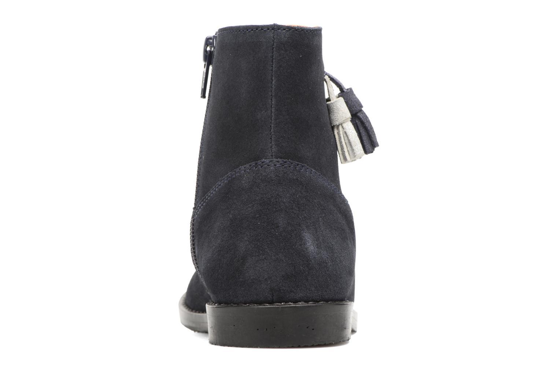 Bottines et boots I Love Shoes SYLVE LEATHER Bleu vue droite