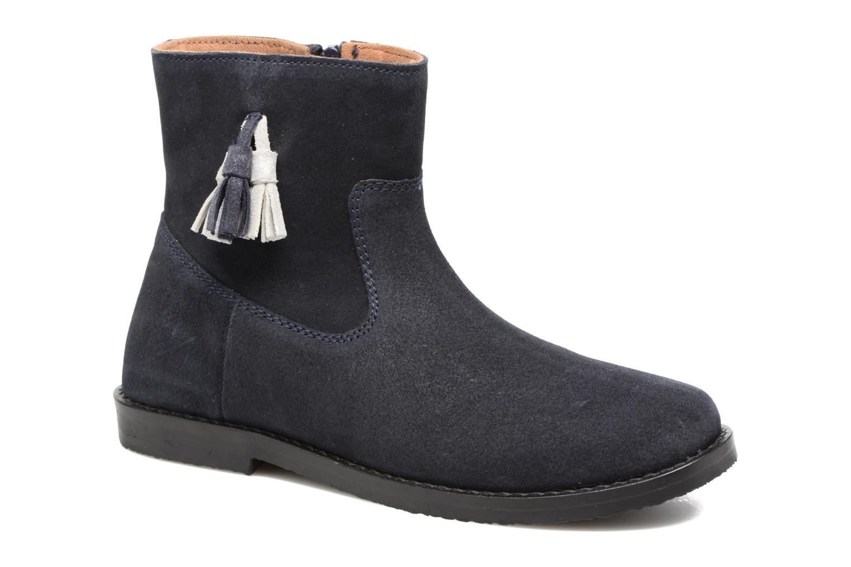 Bottines et boots I Love Shoes SYLVE LEATHER Bleu vue détail/paire