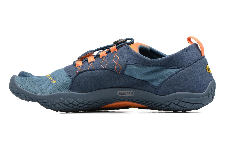 Sportschoenen Vibram FiveFingers Trek Ascent Blauw voorkant