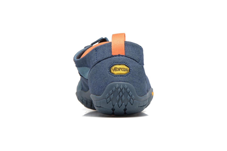 Chaussures de sport Vibram FiveFingers Trek Ascent Bleu vue droite
