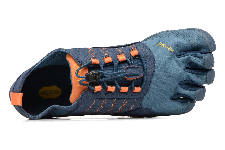 Sportschoenen Vibram FiveFingers Trek Ascent Blauw links