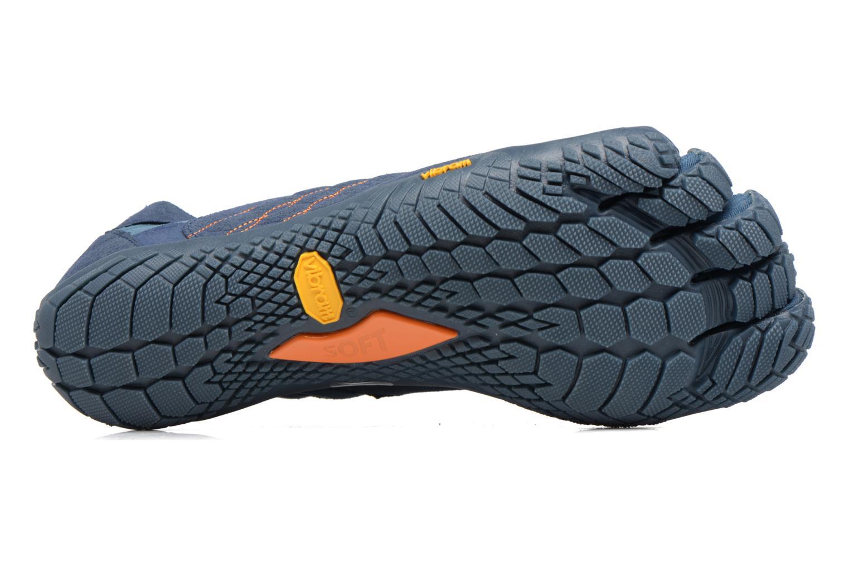 Chaussures de sport Vibram FiveFingers Trek Ascent Bleu vue haut