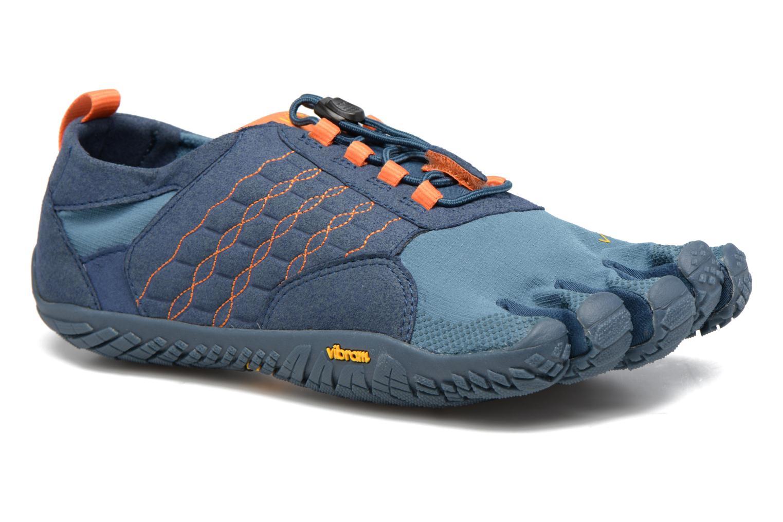 Sportschoenen Vibram FiveFingers Trek Ascent Blauw detail