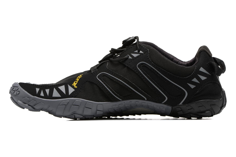 Sportschoenen Vibram FiveFingers V-Trail Zwart voorkant
