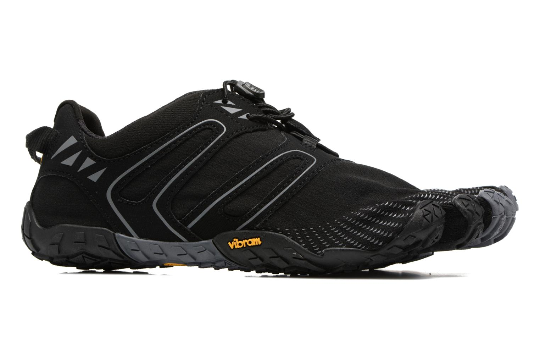 Chaussures de sport Vibram FiveFingers V-Trail Noir vue derrière