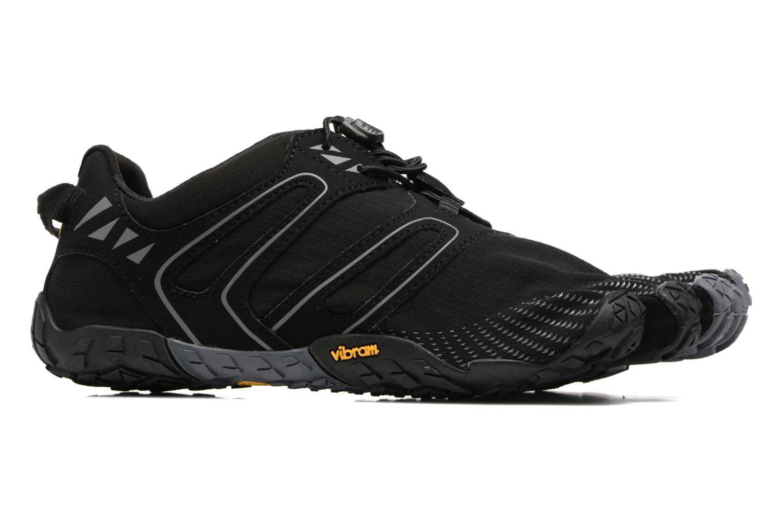 Sportschoenen Vibram FiveFingers V-Trail Zwart achterkant
