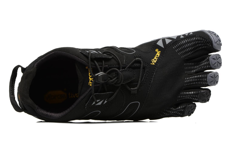 Chaussures de sport Vibram FiveFingers V-Trail Noir vue gauche