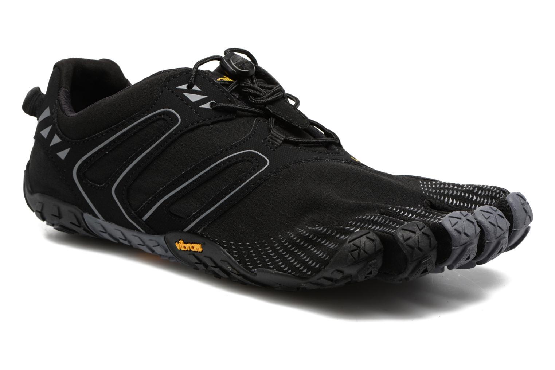 Chaussures de sport Vibram FiveFingers V-Trail Noir vue détail/paire