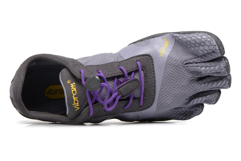 Zapatillas de deporte Vibram FiveFingers KSO Evo Violeta      vista lateral izquierda