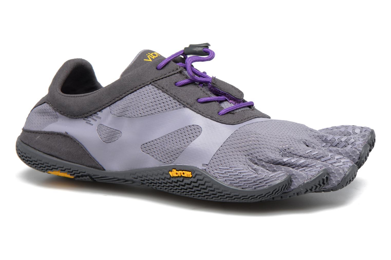 Chaussures de sport Vibram FiveFingers KSO Evo Violet vue détail/paire