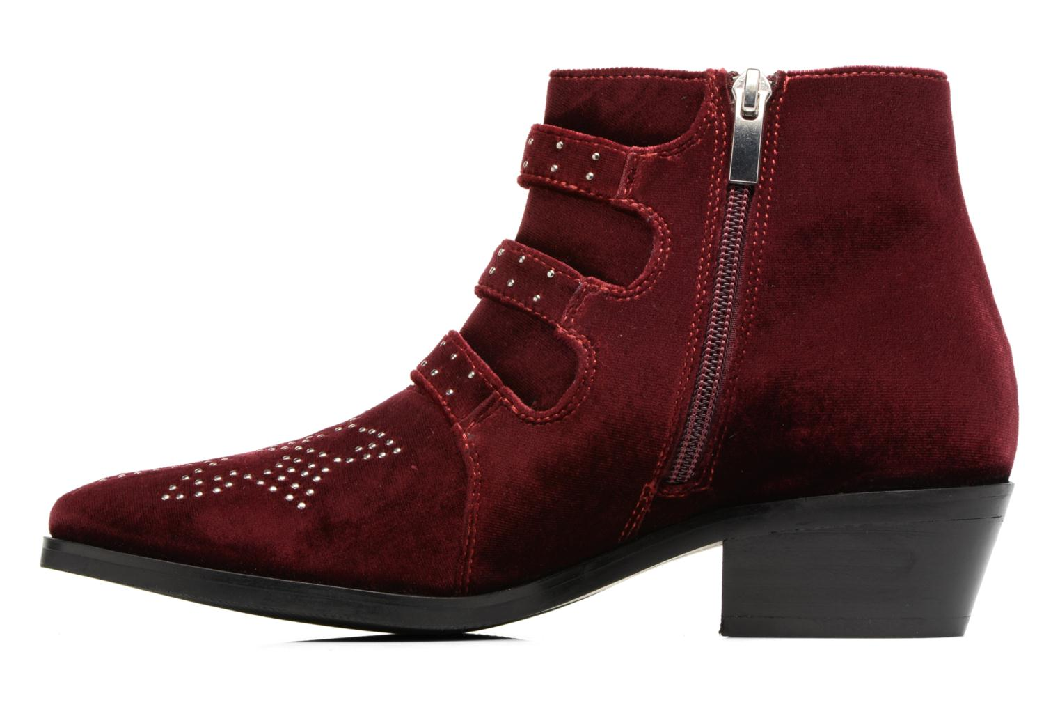 Bottines et boots Bruno Premi Bonnie Bordeaux vue face
