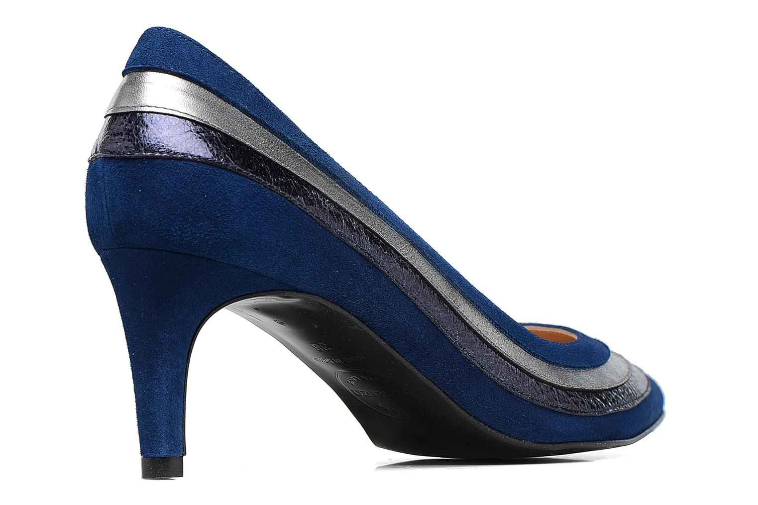 Pumps Made by SARENZA Snow Disco #3 Blauw voorkant