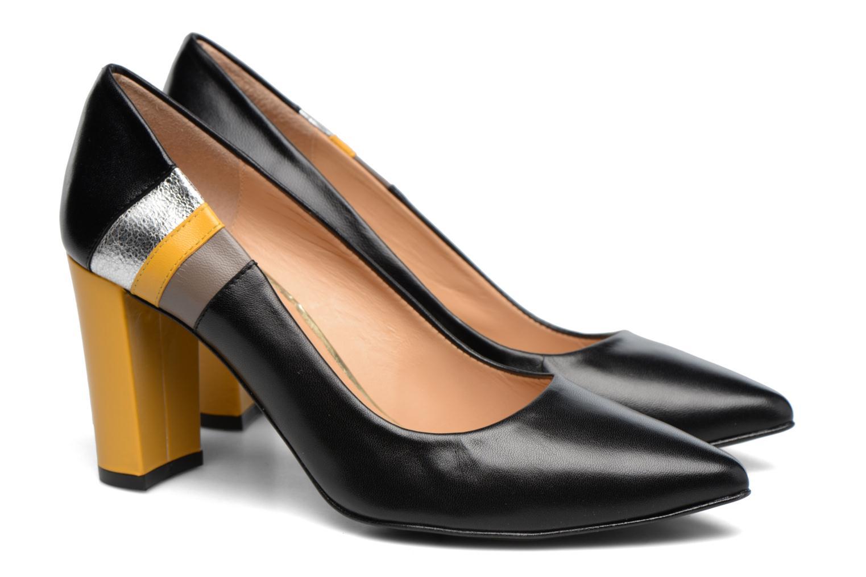 Zapatos de tacón Made by SARENZA Snow Disco #5 Negro vistra trasera