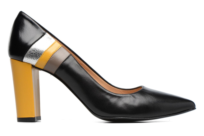 Marques Chaussure femme Made by SARENZA femme Snow Disco #1 Cuir Lisse Noir + Jaune