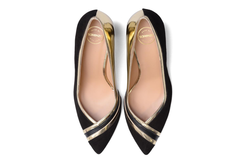 Décolleté Made by SARENZA Shoe Officer #6 Nero modello indossato