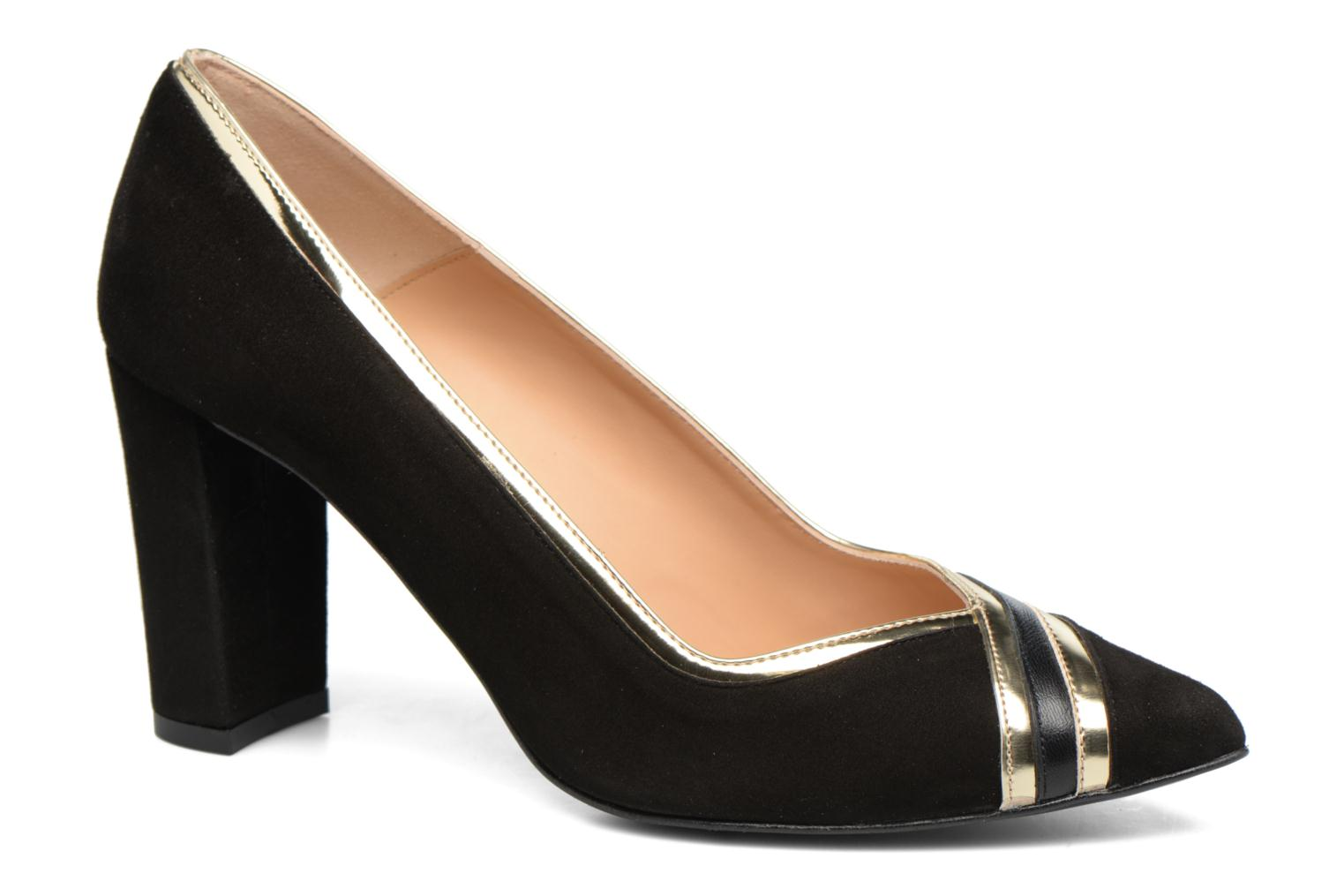 High heels Made by SARENZA Shoe Officer #6 Black view from the right