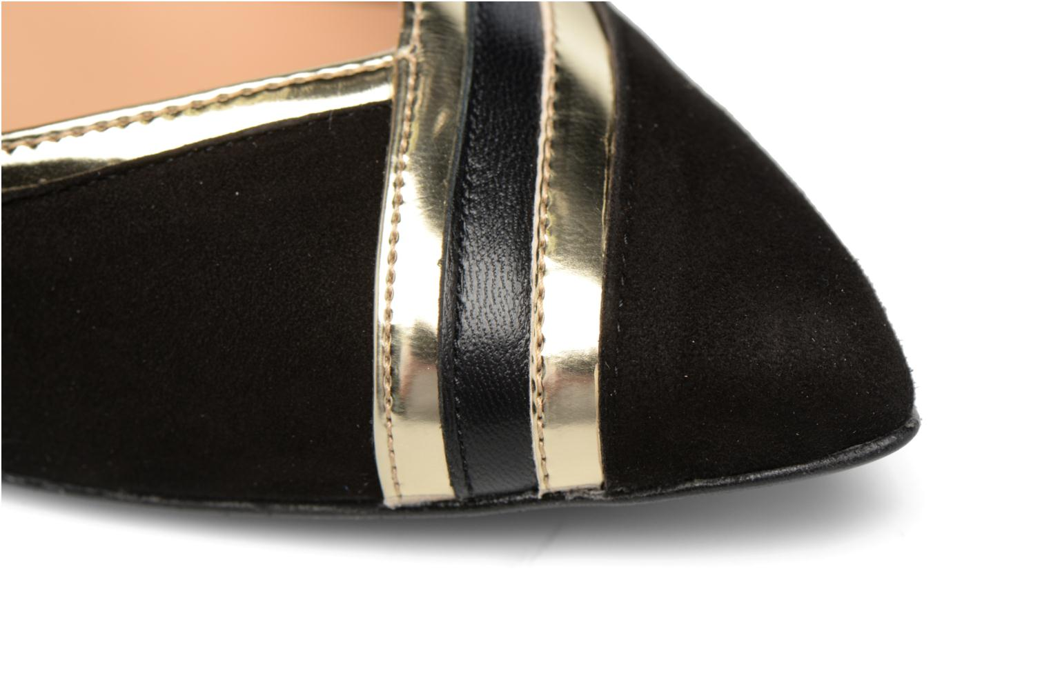 High heels Made by SARENZA Shoe Officer #6 Black view from the left