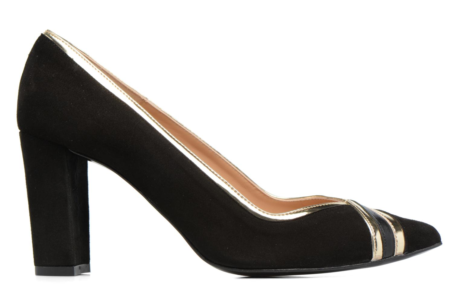 High heels Made by SARENZA Shoe Officer #6 Black detailed view/ Pair view