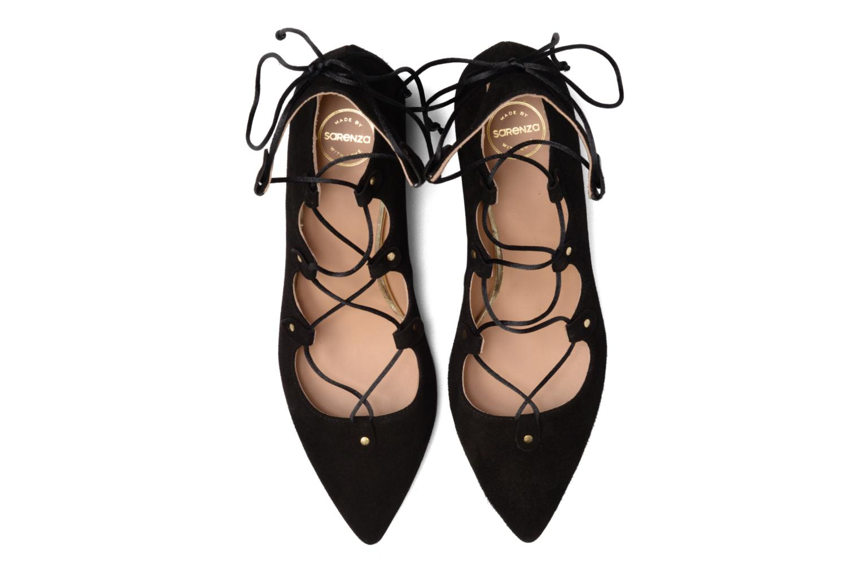 Décolleté Made by SARENZA Shoe Officer #8 Nero modello indossato