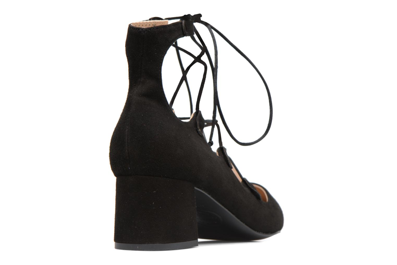 Escarpins Made by SARENZA Shoe Officer #8 Noir vue face