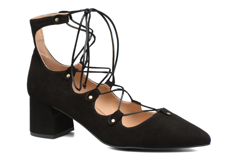 Escarpins Made by SARENZA Shoe Officer #8 Noir vue droite