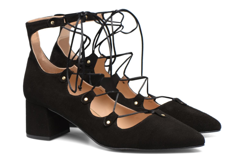 Shoe Officer #8 Cuir velours noir
