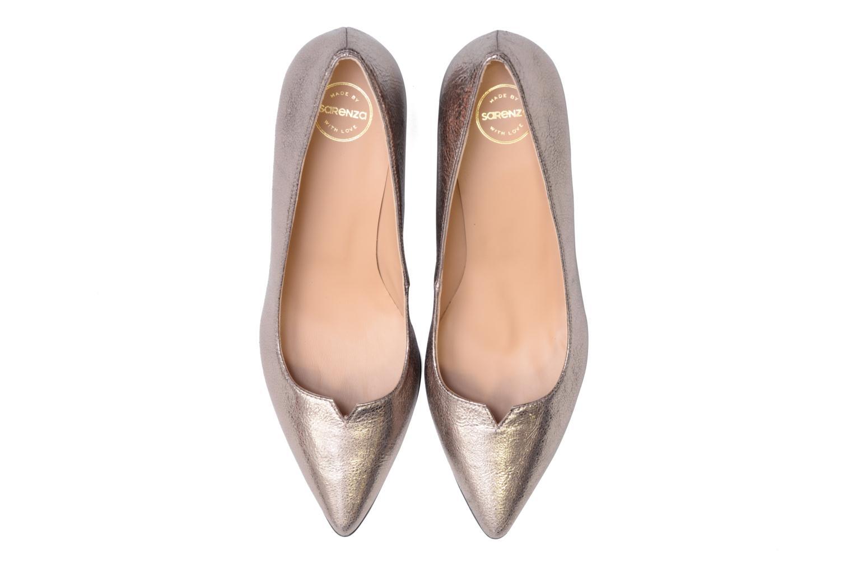 High heels Made by SARENZA 90's Girls Gang Escarpins #11 Bronze and Gold model view