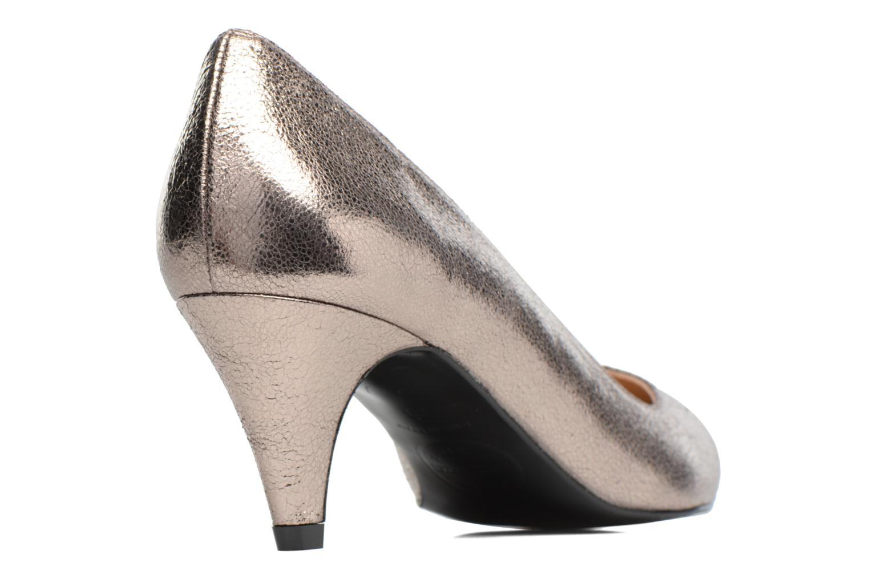 High heels Made by SARENZA 90's Girls Gang Escarpins #11 Bronze and Gold front view