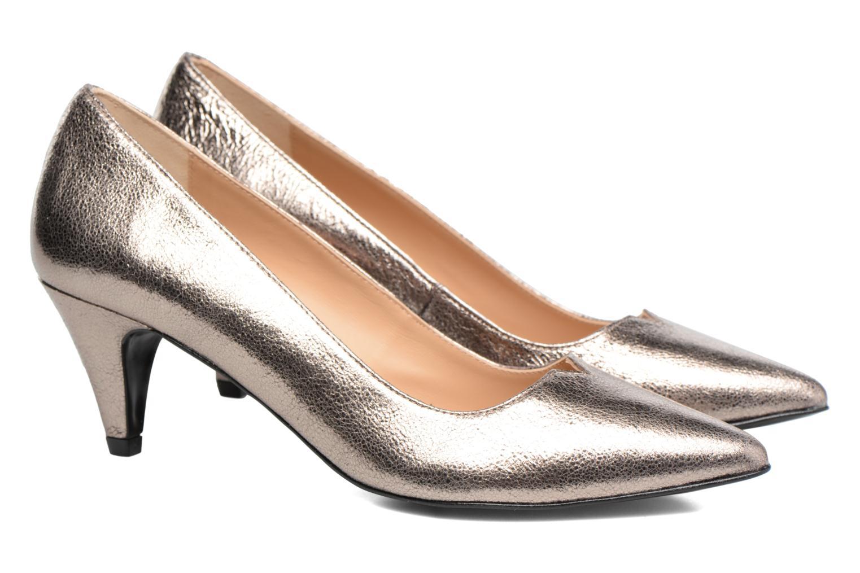High heels Made by SARENZA 90's Girls Gang Escarpins #11 Bronze and Gold back view