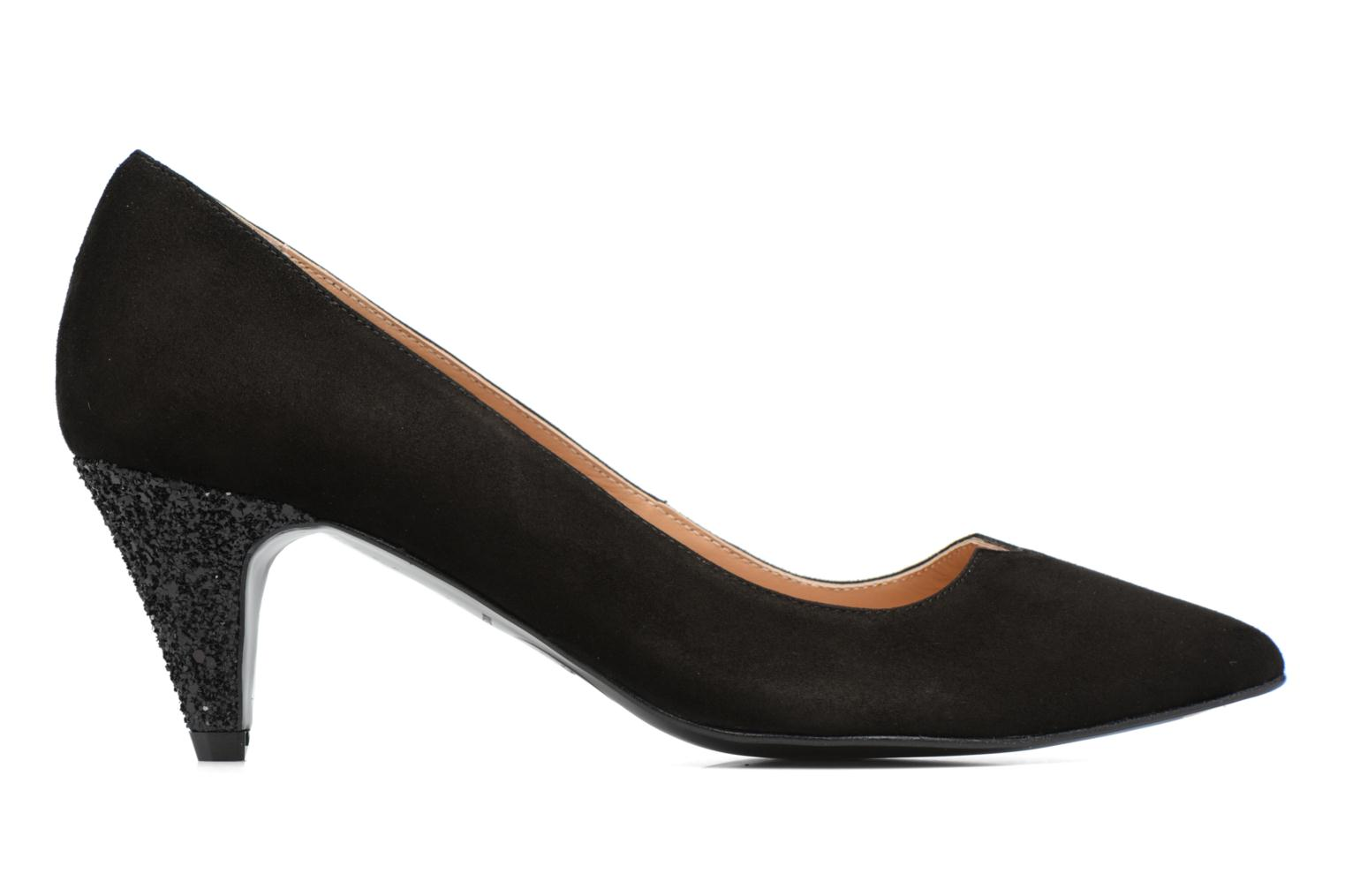 Shoe Officer #4 Cuir velours noir