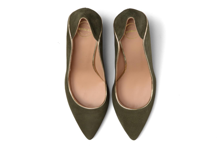 Escarpins Made by SARENZA Crazy Seventy #2 Vert vue portées chaussures