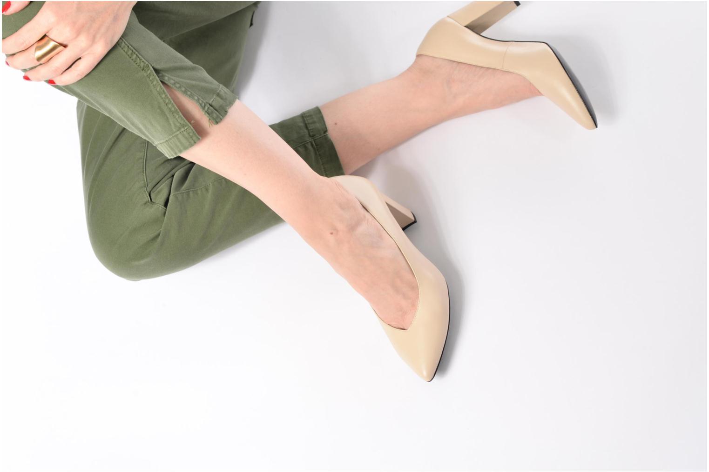 Zapatos de tacón Made by SARENZA Crazy Seventy #5 Blanco vista de abajo