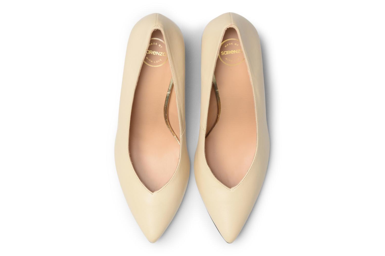 Zapatos de tacón Made by SARENZA Crazy Seventy #5 Blanco vista del modelo