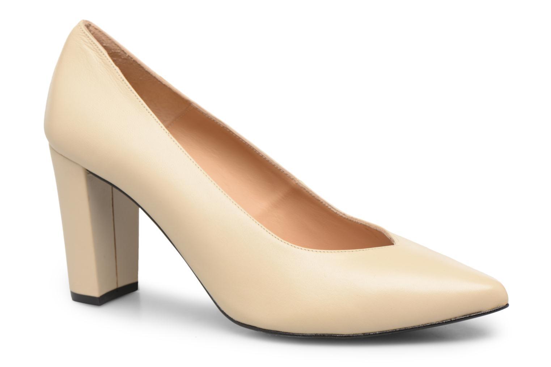 Zapatos de tacón Made by SARENZA Crazy Seventy #5 Blanco vista lateral derecha
