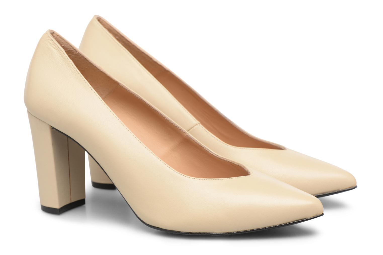 Zapatos de tacón Made by SARENZA Crazy Seventy #5 Blanco vistra trasera