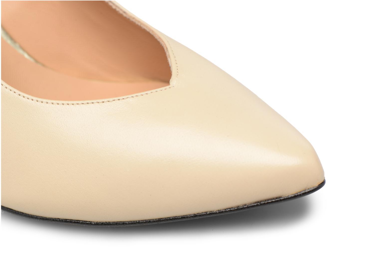 Zapatos de tacón Made by SARENZA Crazy Seventy #5 Blanco vista lateral izquierda