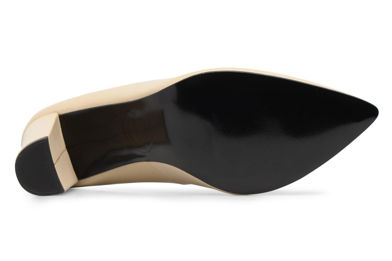 Zapatos de tacón Made by SARENZA Crazy Seventy #5 Blanco vista de arriba