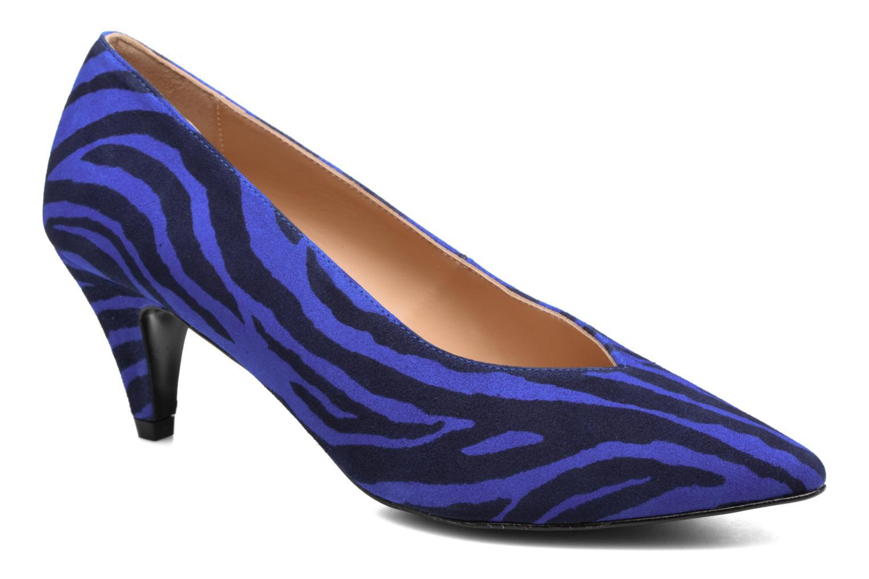 Zapatos de tacón Made by SARENZA Busy Girl Escarpins #3 Azul vista lateral derecha