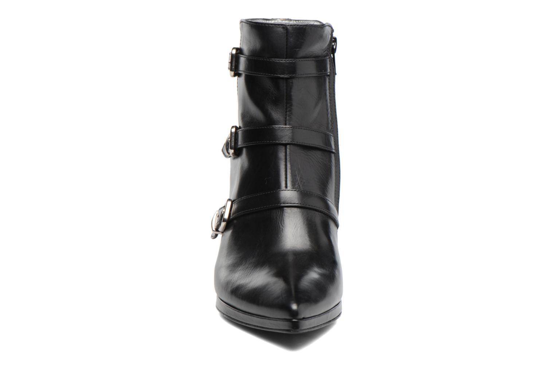 Bottines et boots Free Lance Kalfy 7 boot 3 strap Noir vue portées chaussures