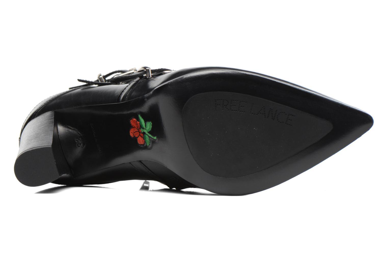 Bottines et boots Free Lance Kalfy 7 boot 3 strap Noir vue haut