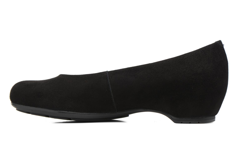 Ballet pumps Unisa Audaz Black front view