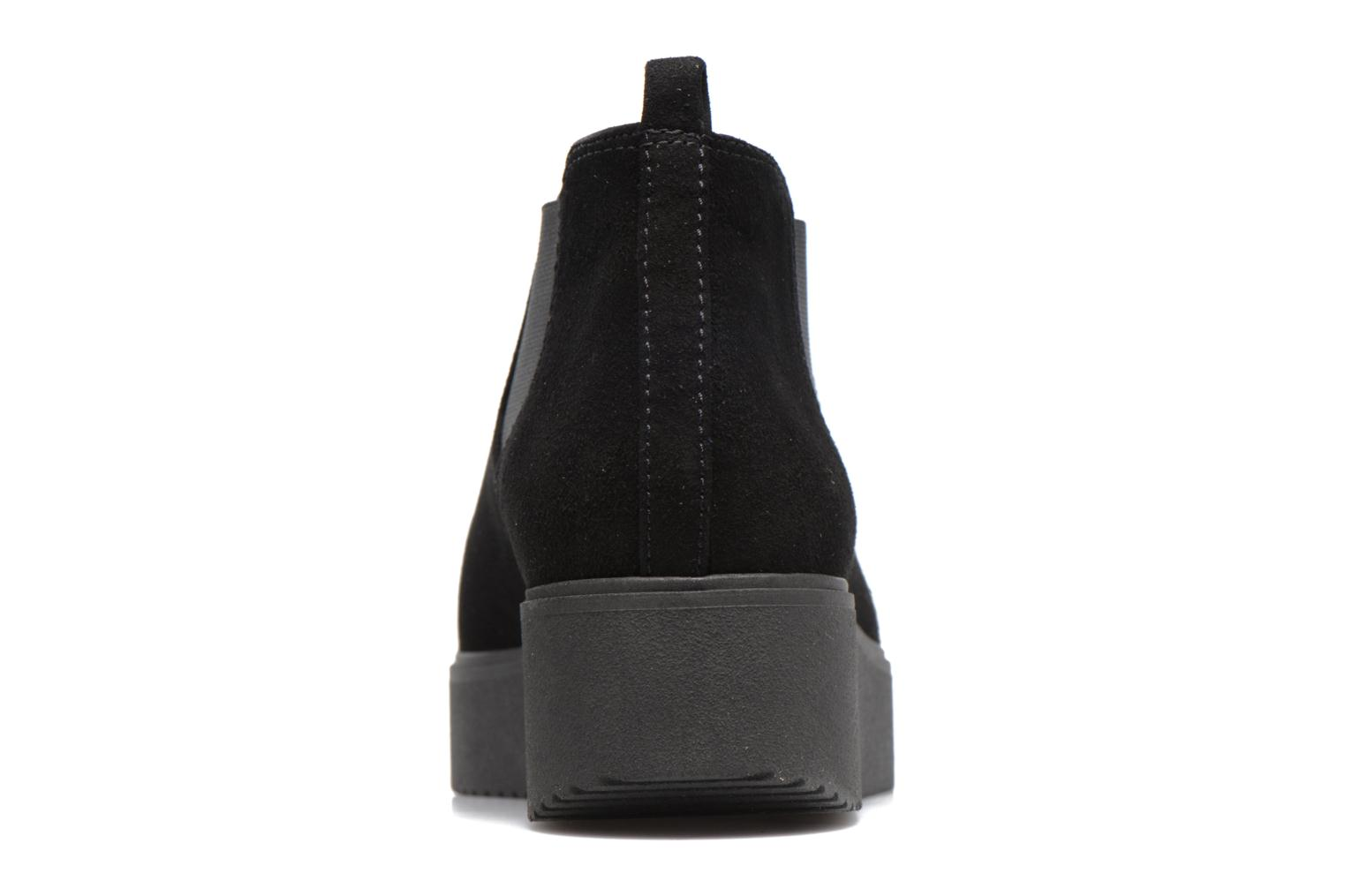 Ankle boots Unisa Cadeo Black view from the right