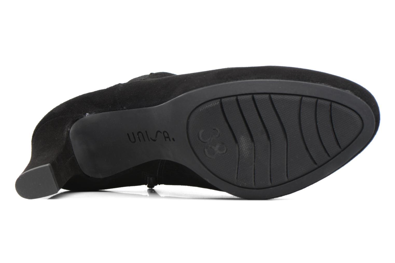 Stiefeletten & Boots Unisa Nelas schwarz ansicht von oben