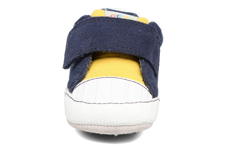 Baskets Geox B IAN B II Bleu vue portées chaussures