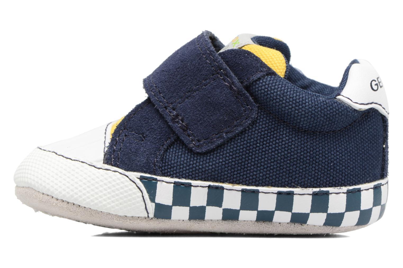 Sneakers Geox B IAN B II Blauw voorkant